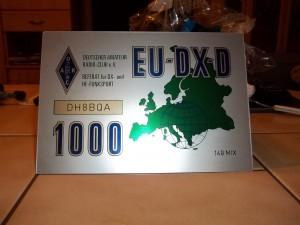 EUDXD trophy