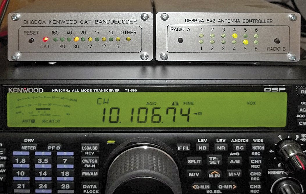 Universal banddecoder for station automation | DH8BQA