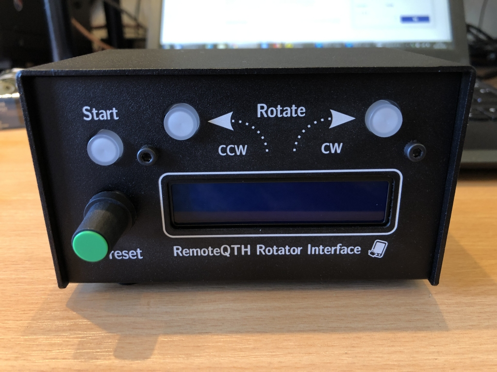 Rotator interface by remoteqth com | DH8BQA